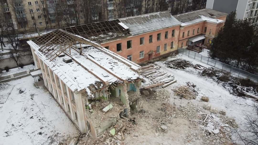 Сучасний стан приміщення водолікарні, Фото: Сергій Коваленко