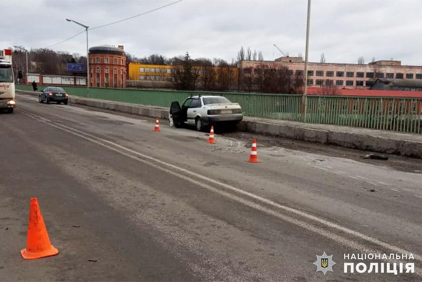 """ДТП на мосту """"Стрімка лань"""""""