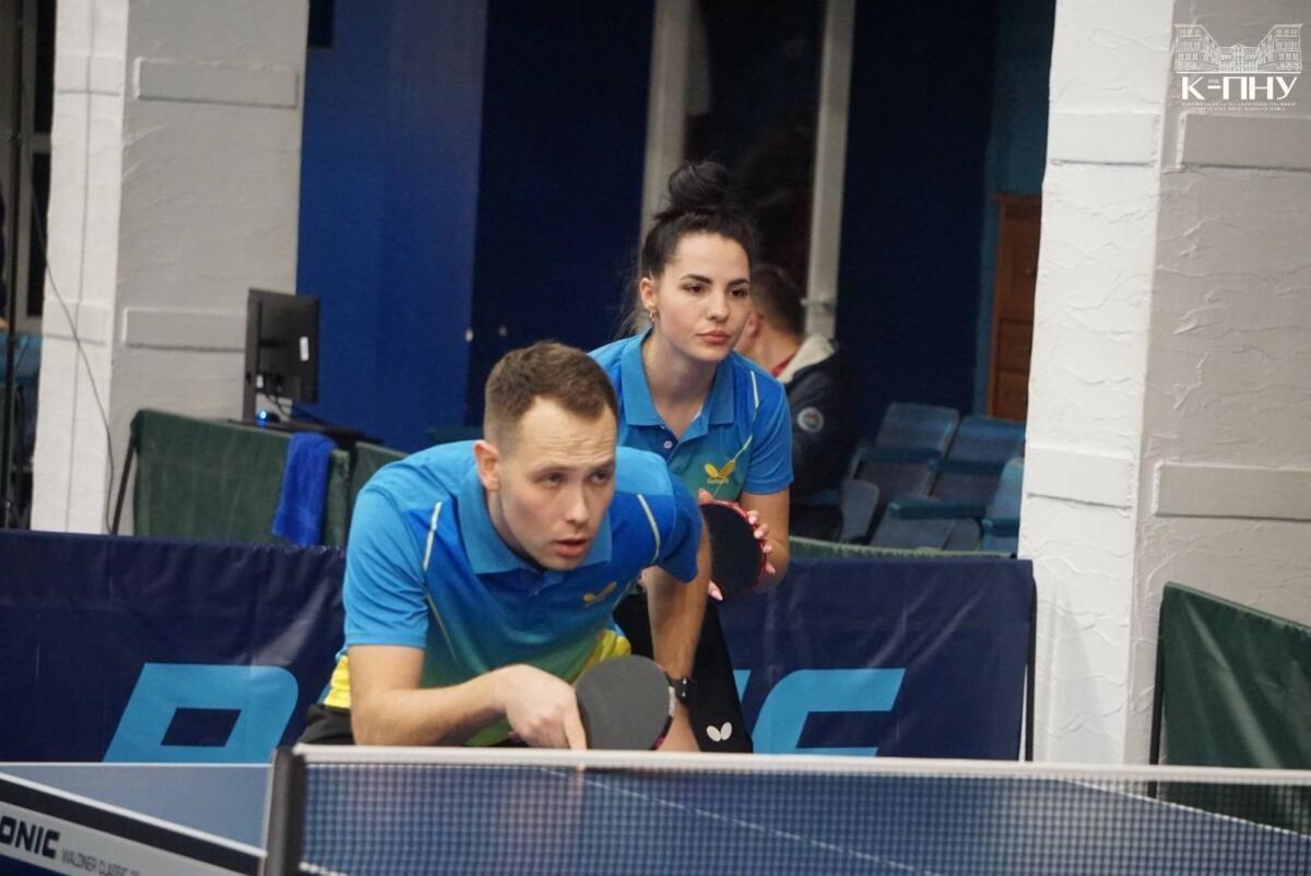 Чемпіонат України-2021 з настільного тенісу, Фото: К-ПНУ