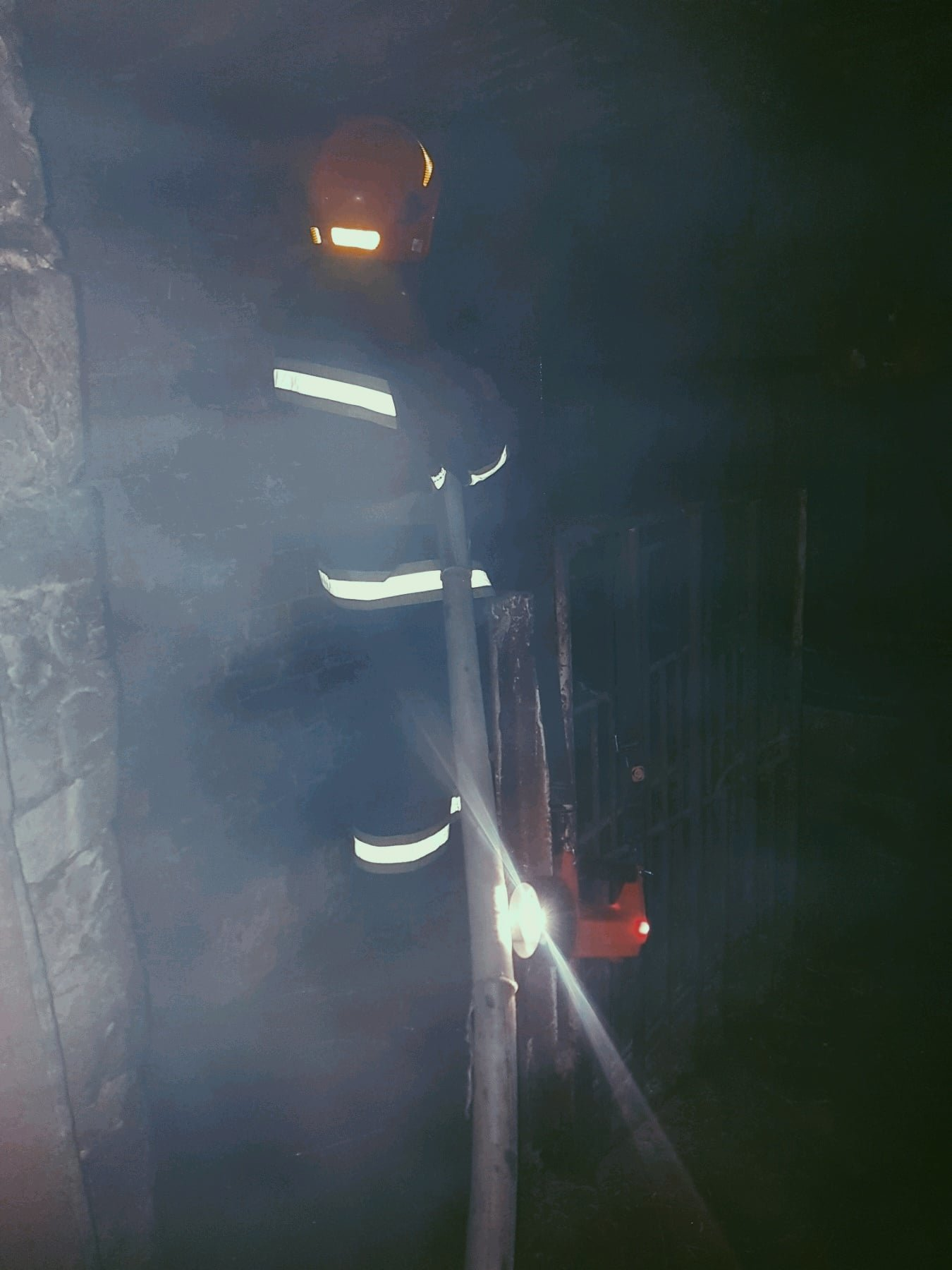 пожежа господарчої споруди