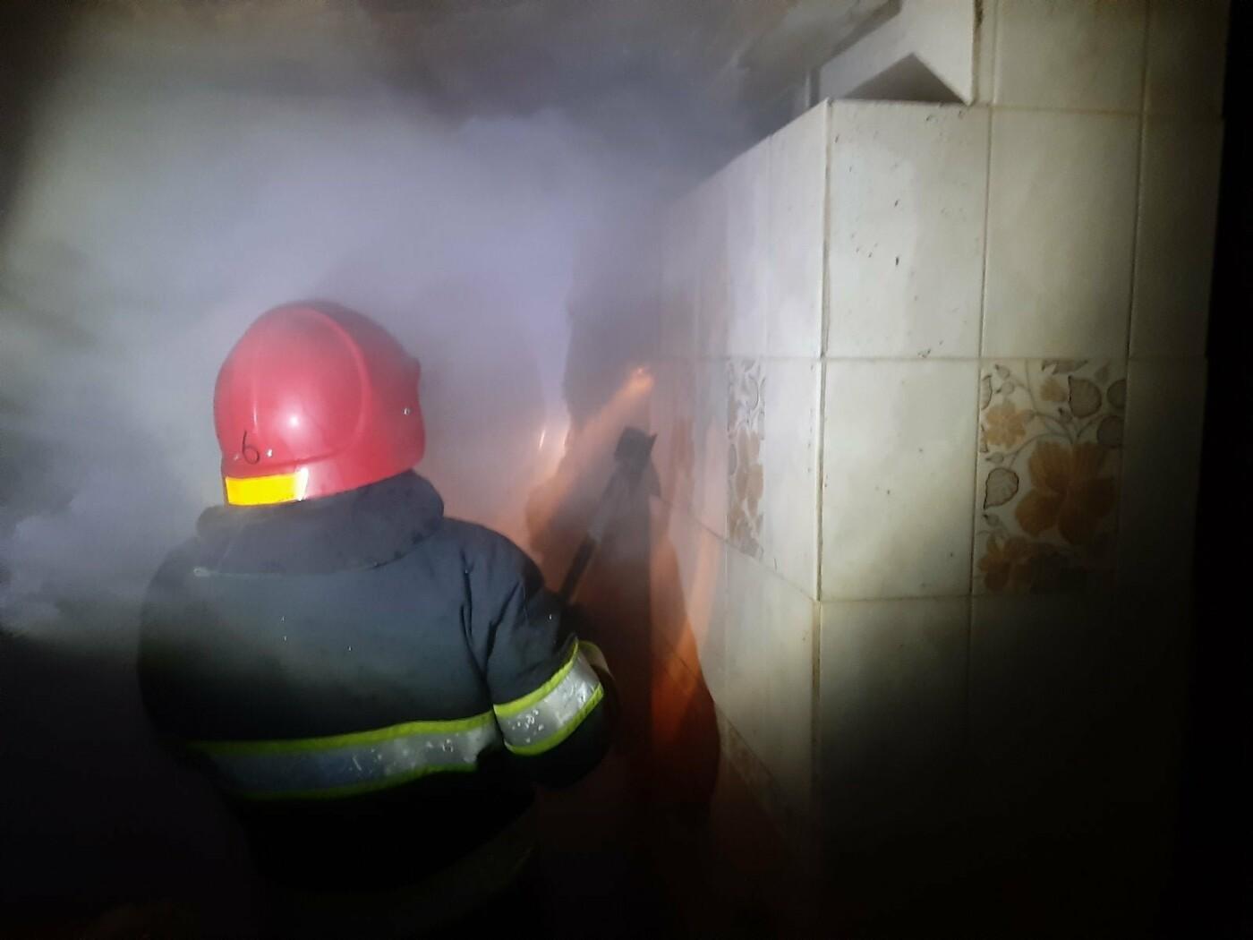 В Княгинині через неправильну експлуатацію печі трапилась пожежа , фото-1