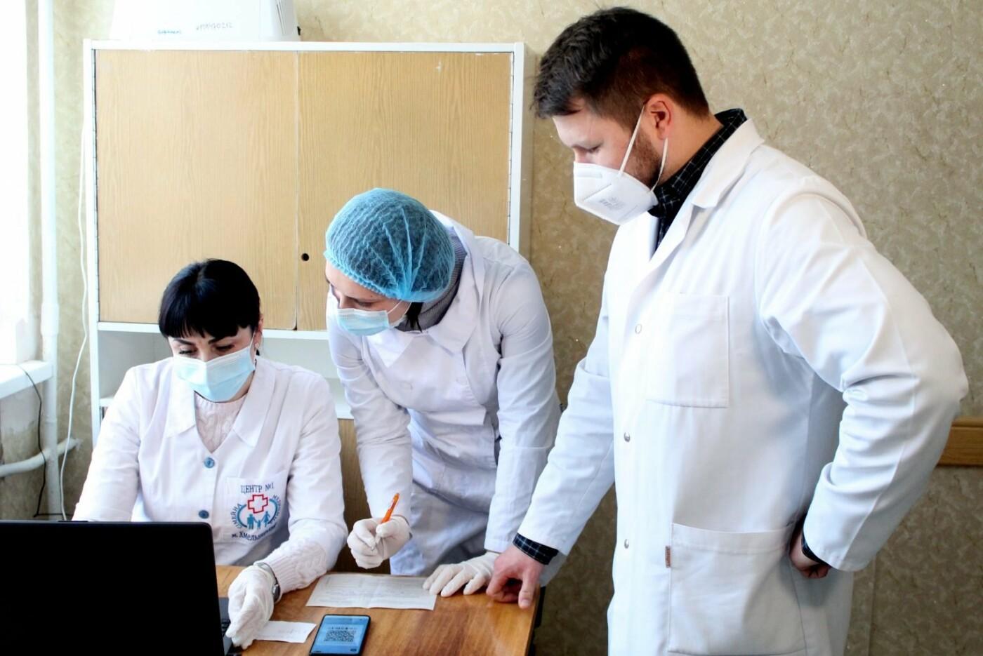 У Хмельницькій області розпочали вакцинацію від COVID-19, Фото: Хмельницька ОДА