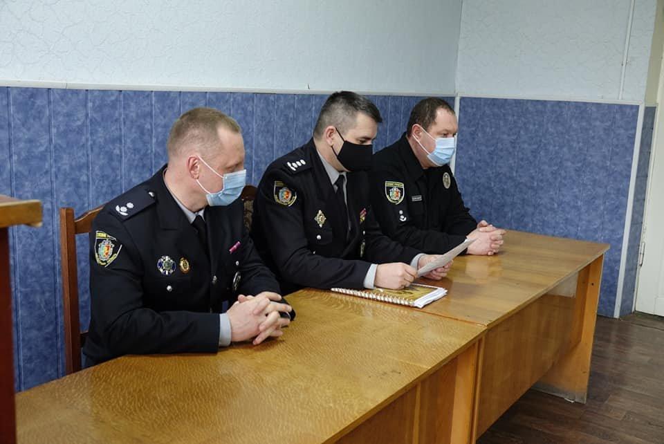 Представлення новопризначених керівників поліції, Фото: Кам'янець-Подільське районне управління поліції