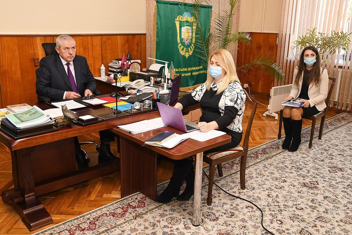 Сесія Виконавчого комітету Мережі Університетів Чорноморського Регіону, Фото: ПДАТУ