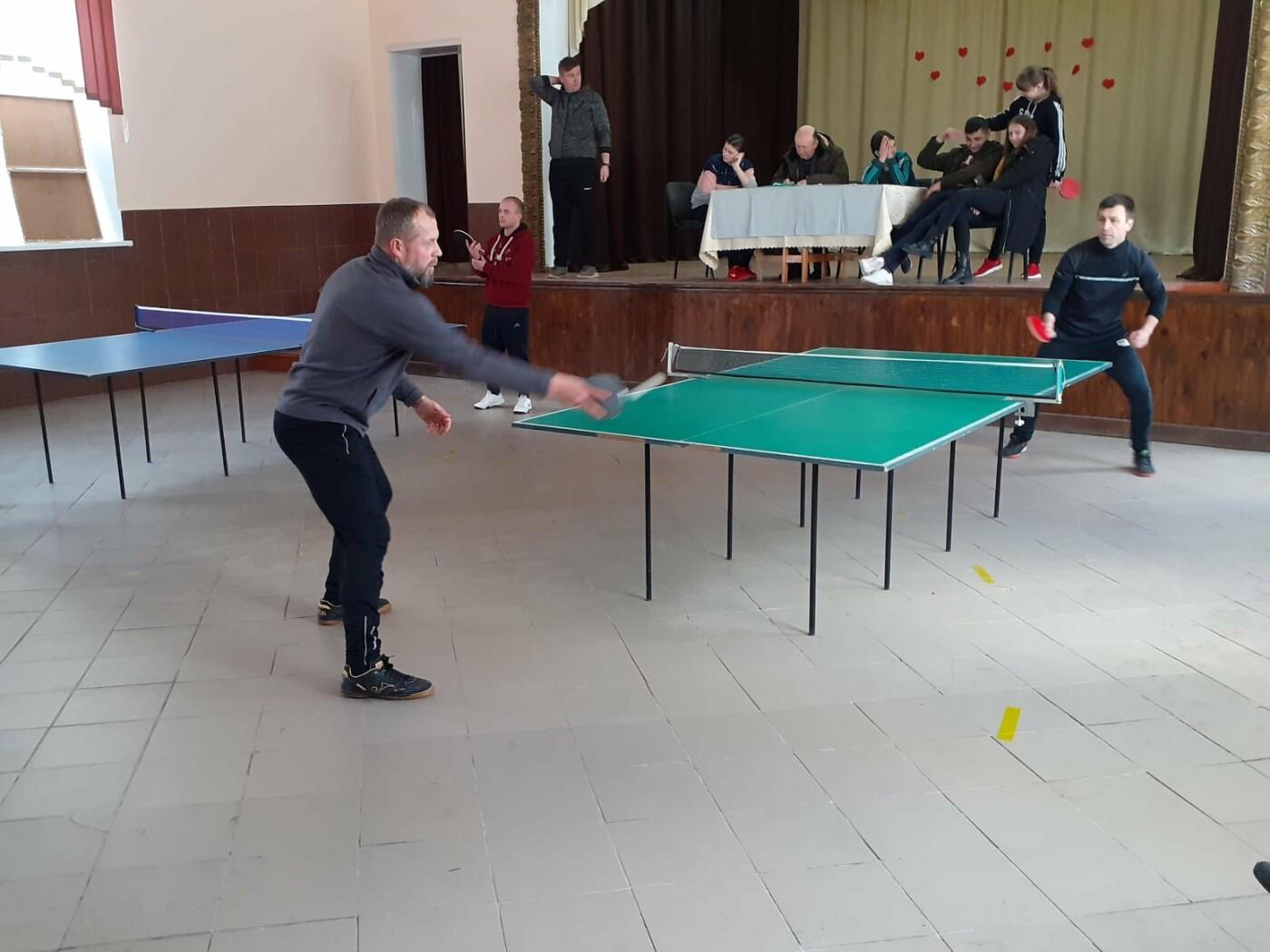 На Кам'янеччині відбувся турнір з настільного тенісу , фото-13, Фото: Староушицька ОТГ