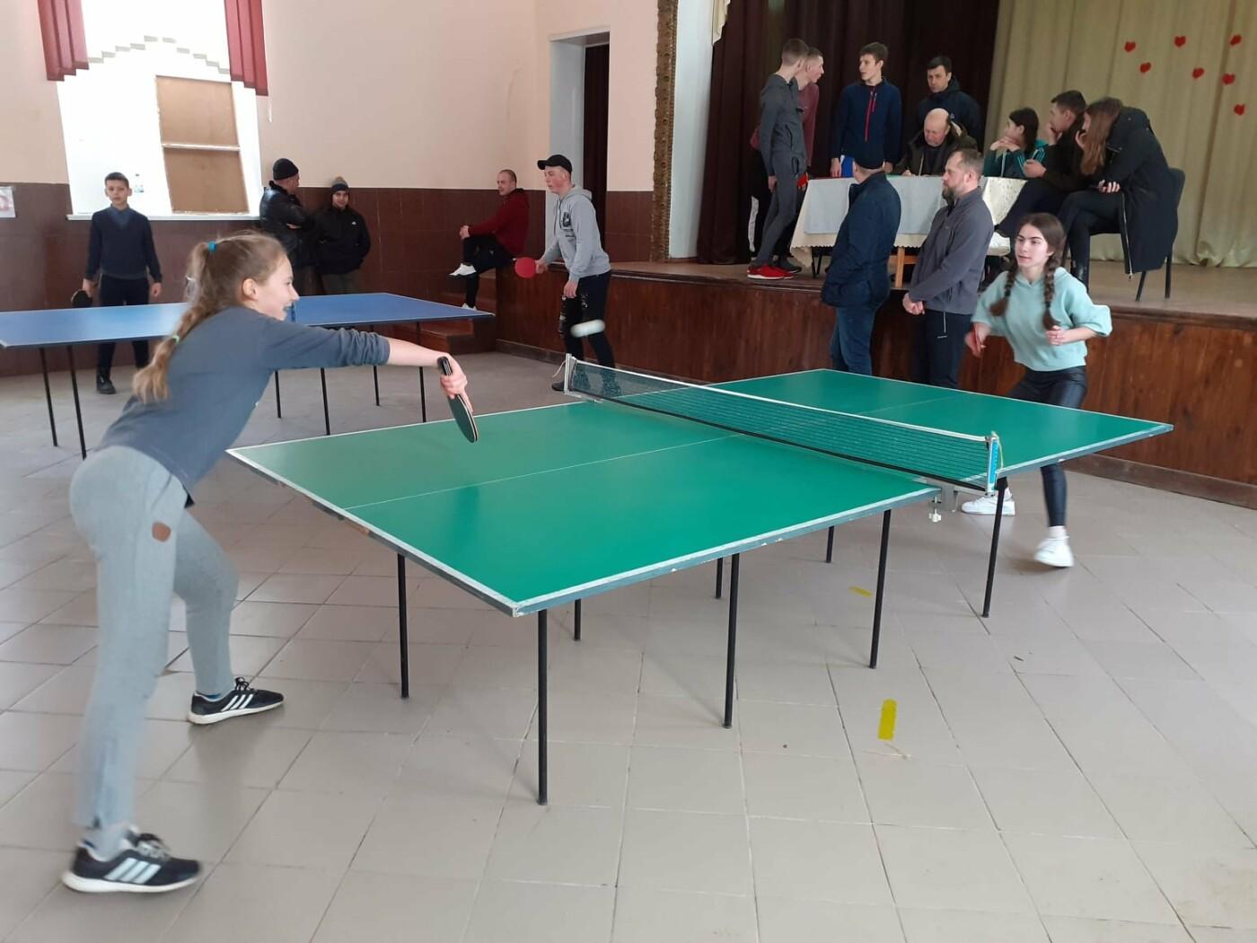 На Кам'янеччині відбувся турнір з настільного тенісу , фото-12, Фото: Староушицька ОТГ