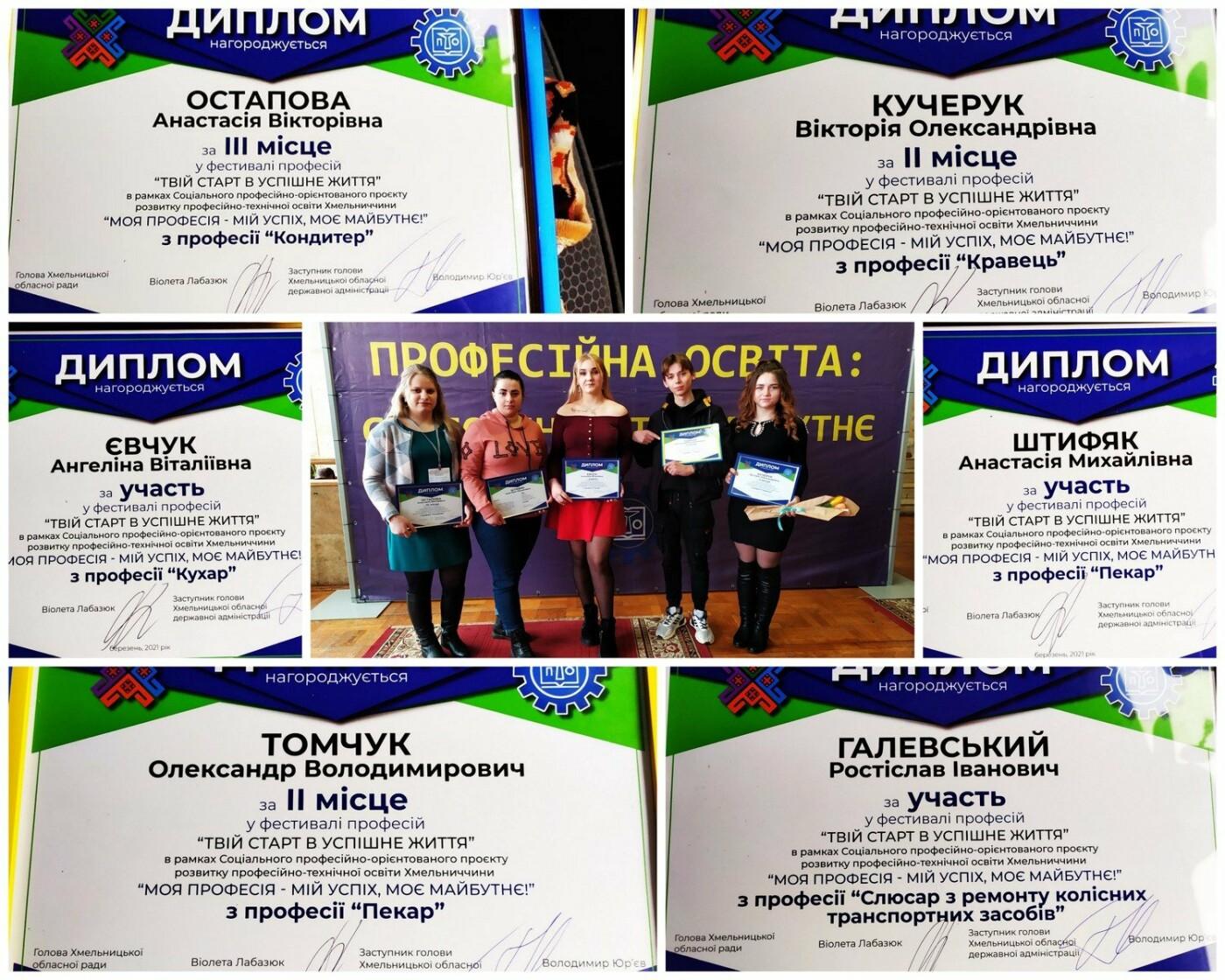 """Учасники та призери від """"Подільського центру ПТО"""", Фото: Центр"""
