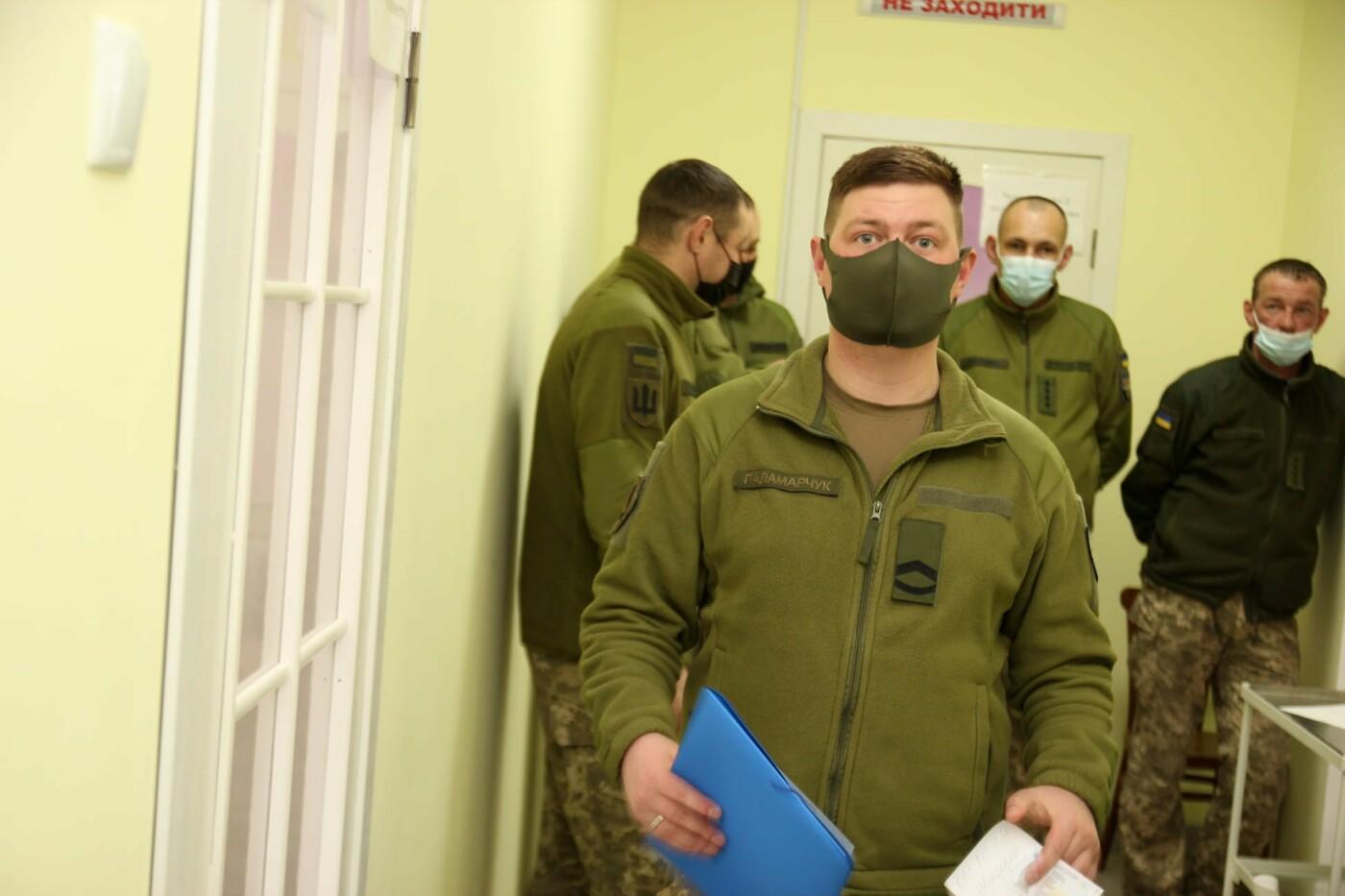 У Кам'янці-Подільському триває вакцинація військовослужбовців, фото-8