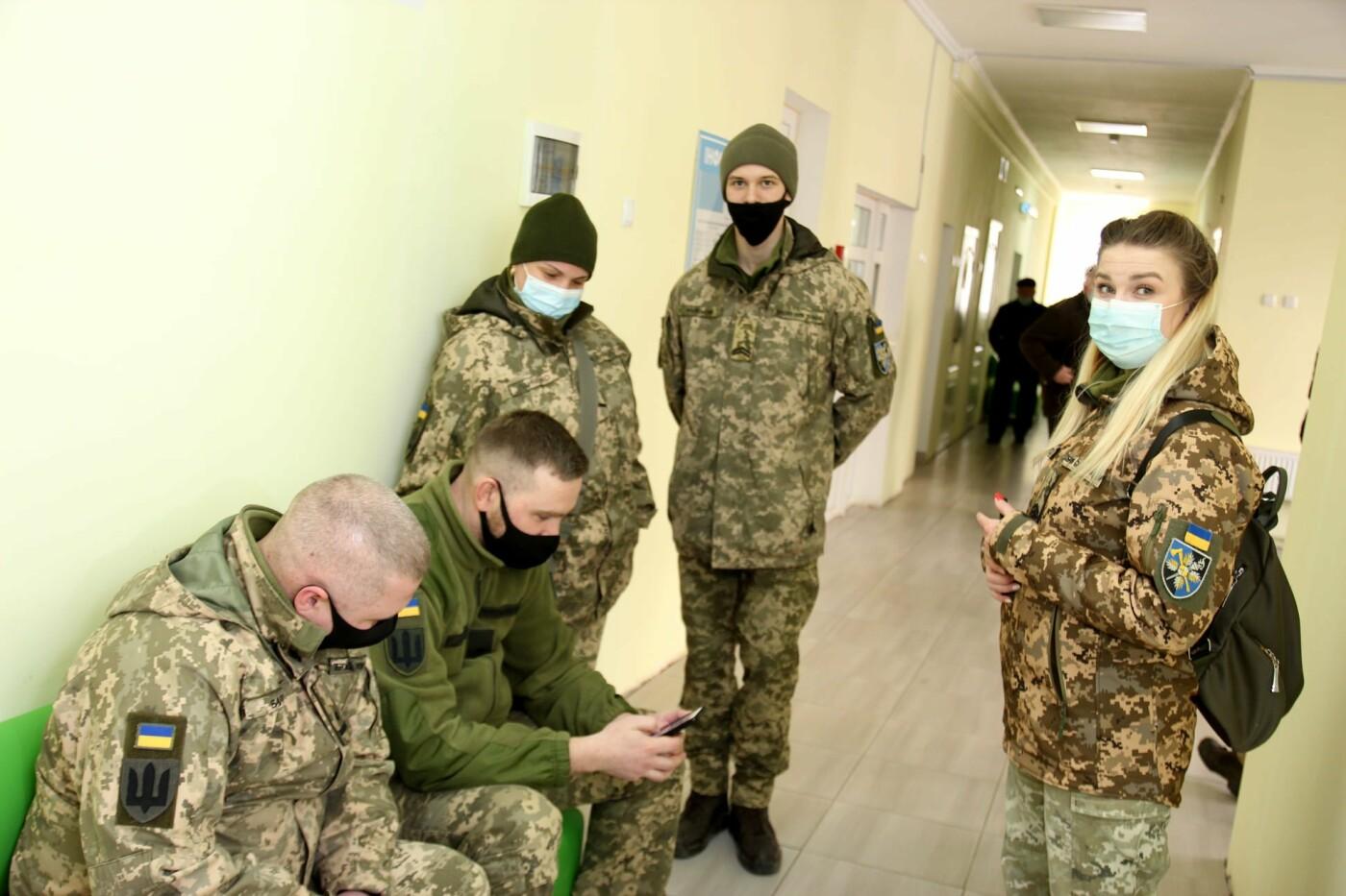 У Кам'янці-Подільському триває вакцинація військовослужбовців, фото-12