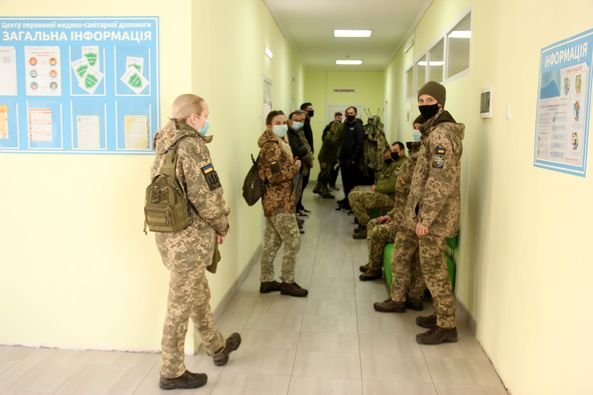 У Кам'янці-Подільському триває вакцинація військовослужбовців, фото-13