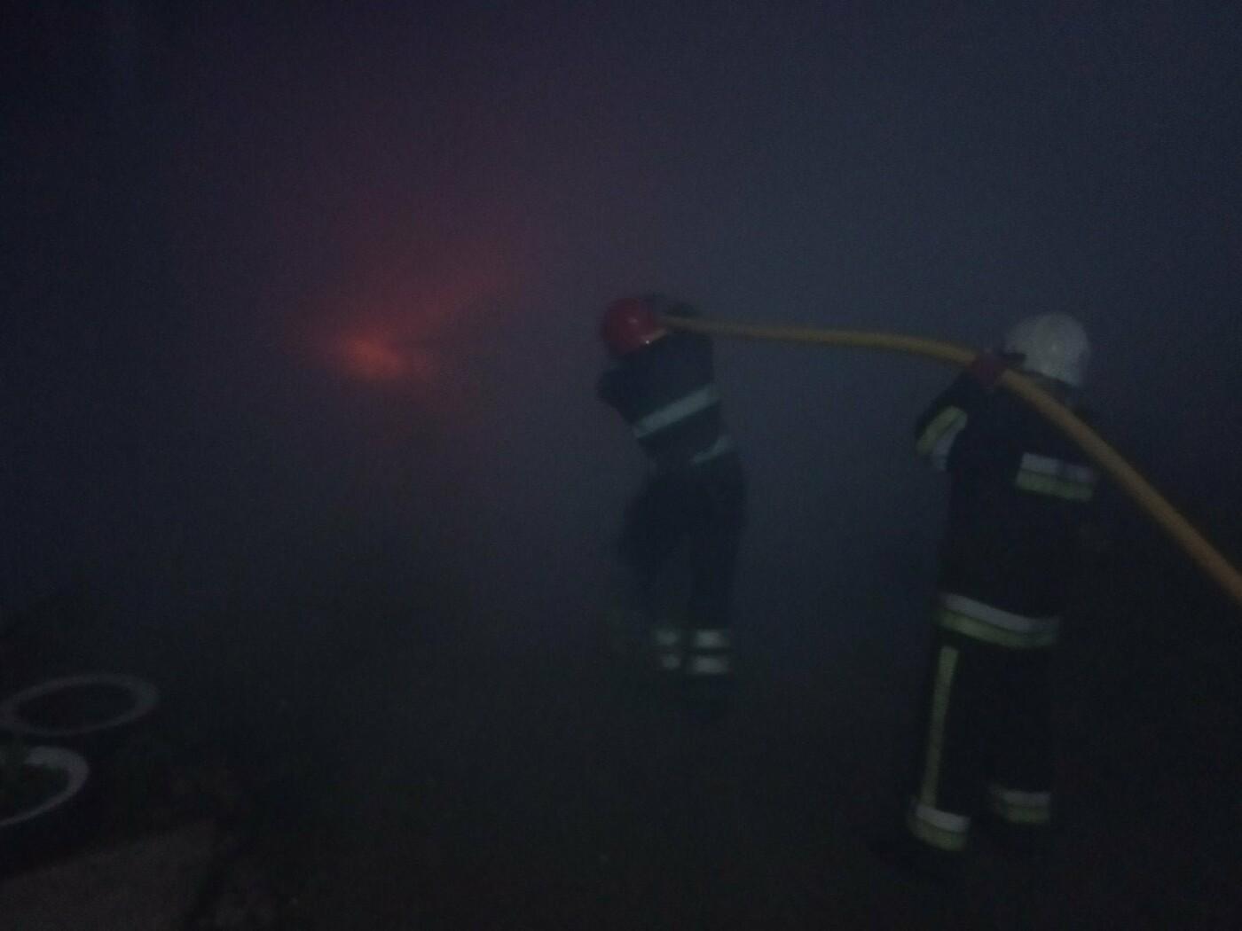 По Молодіжній виникла пожежа легкового автомобіля, фото-1