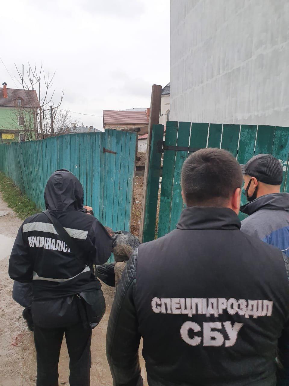 Затримання у Кам'янці-Подільському, Фото: Пресслужба УСБУ у Хмельницькій області