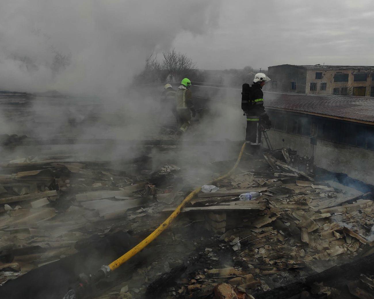 У селі Кам'янка горіла приватна господарча споруда, фото-3