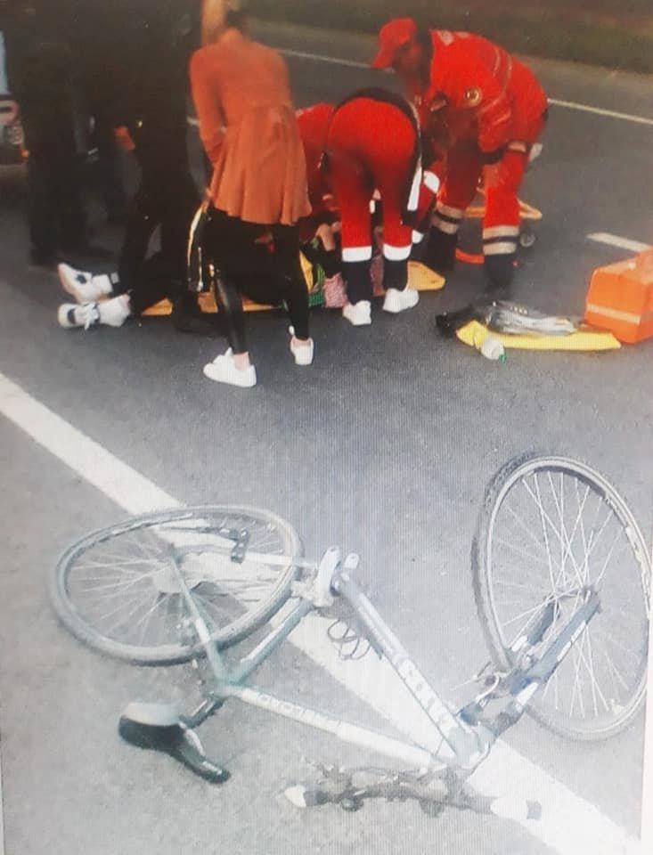 На Кам'янеччині трапилася ДТП: травмувалась 14-річна дівчинка, фото-2, Фото: Кам'янець-Подільське районне управління поліції