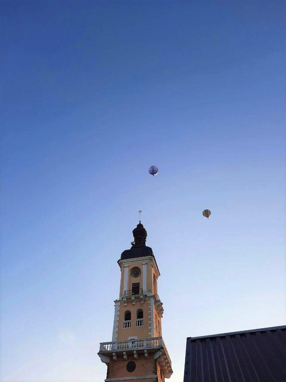 Повітряні кулі над Кам'янцем-Подільським, Фото: мережа Інтернет