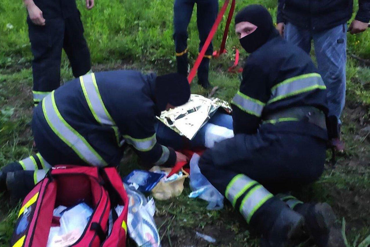 Деталі трагедії щодо падіння повітряної кулі, фото-1, Фото: ГУ ДСНС України у Хмельницькій області