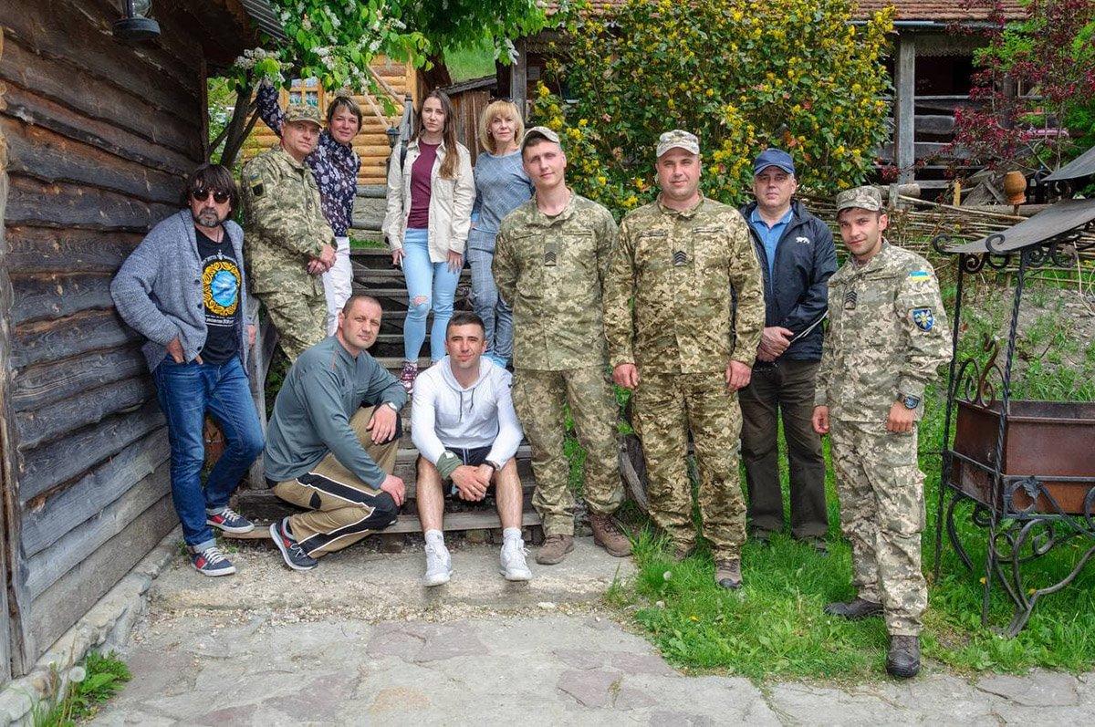 Продовжується психологічне відновлення колишніх військовослужбовців, Фото: ПДУ