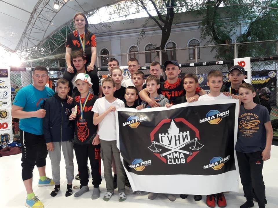 Кам'янецькі єдиноборці на Чемпіонаті Одеси