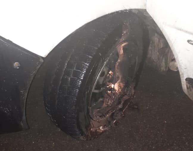У Кам'янці-Подільському вночі підпалили автівку підприємця, фото-1