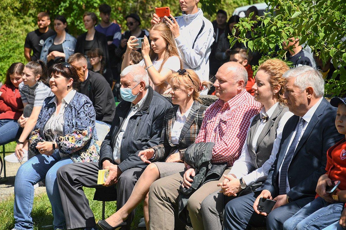 У Ботанічному саду відбулася студентська ліга гумору, фото-30