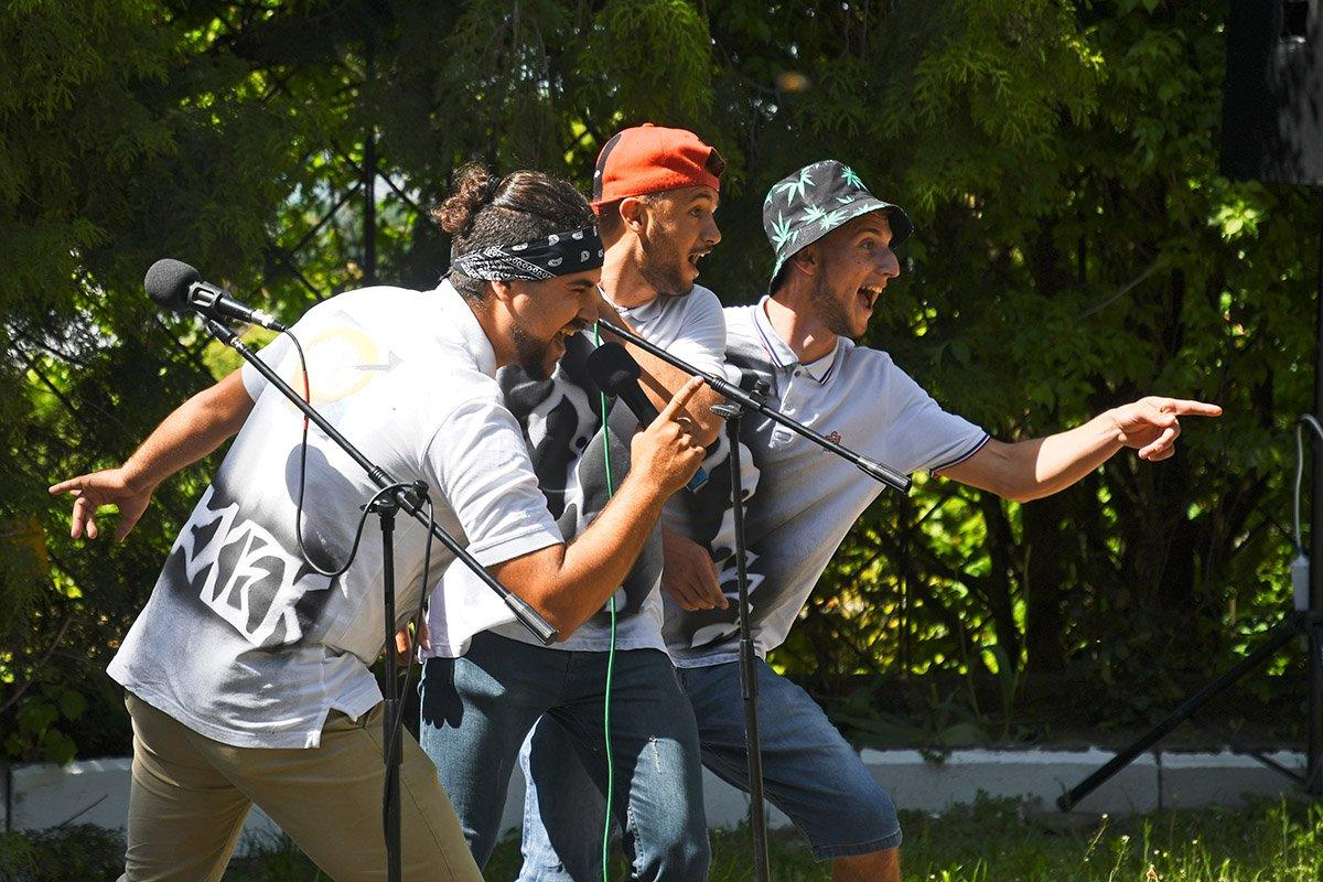 У Ботанічному саду відбулася студентська ліга гумору, фото-28
