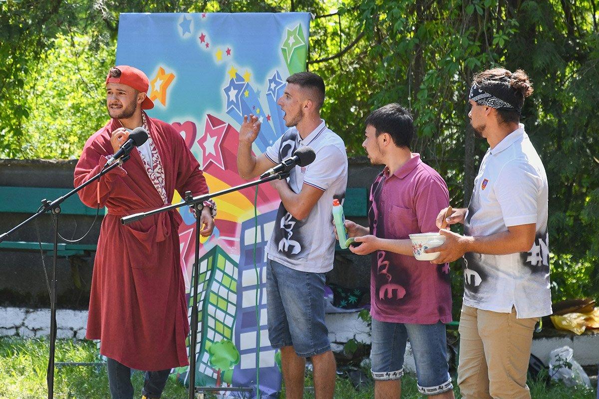 У Ботанічному саду відбулася студентська ліга гумору, фото-27