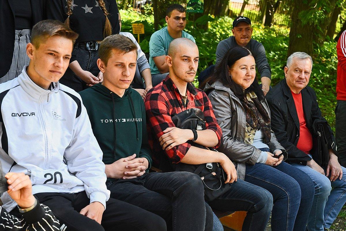 У Ботанічному саду відбулася студентська ліга гумору, фото-25