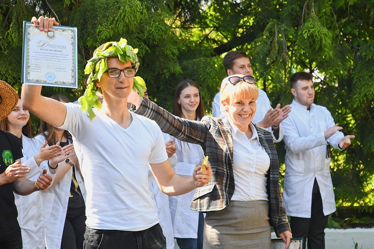 У Ботанічному саду відбулася студентська ліга гумору, фото-8