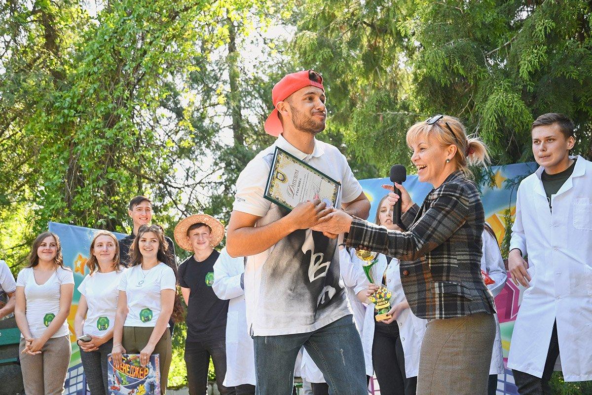 У Ботанічному саду відбулася студентська ліга гумору, фото-7