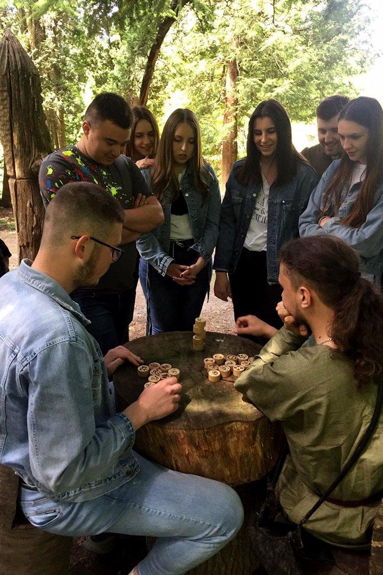 """Студенти ПДАТУ шукали """"Квітки папороті"""" у Ботанічному саду, фото-13"""