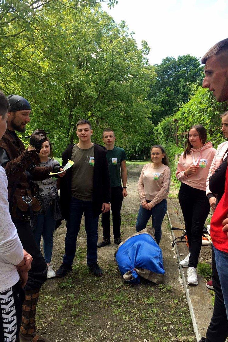 """Студенти ПДАТУ шукали """"Квітки папороті"""" у Ботанічному саду, фото-9"""