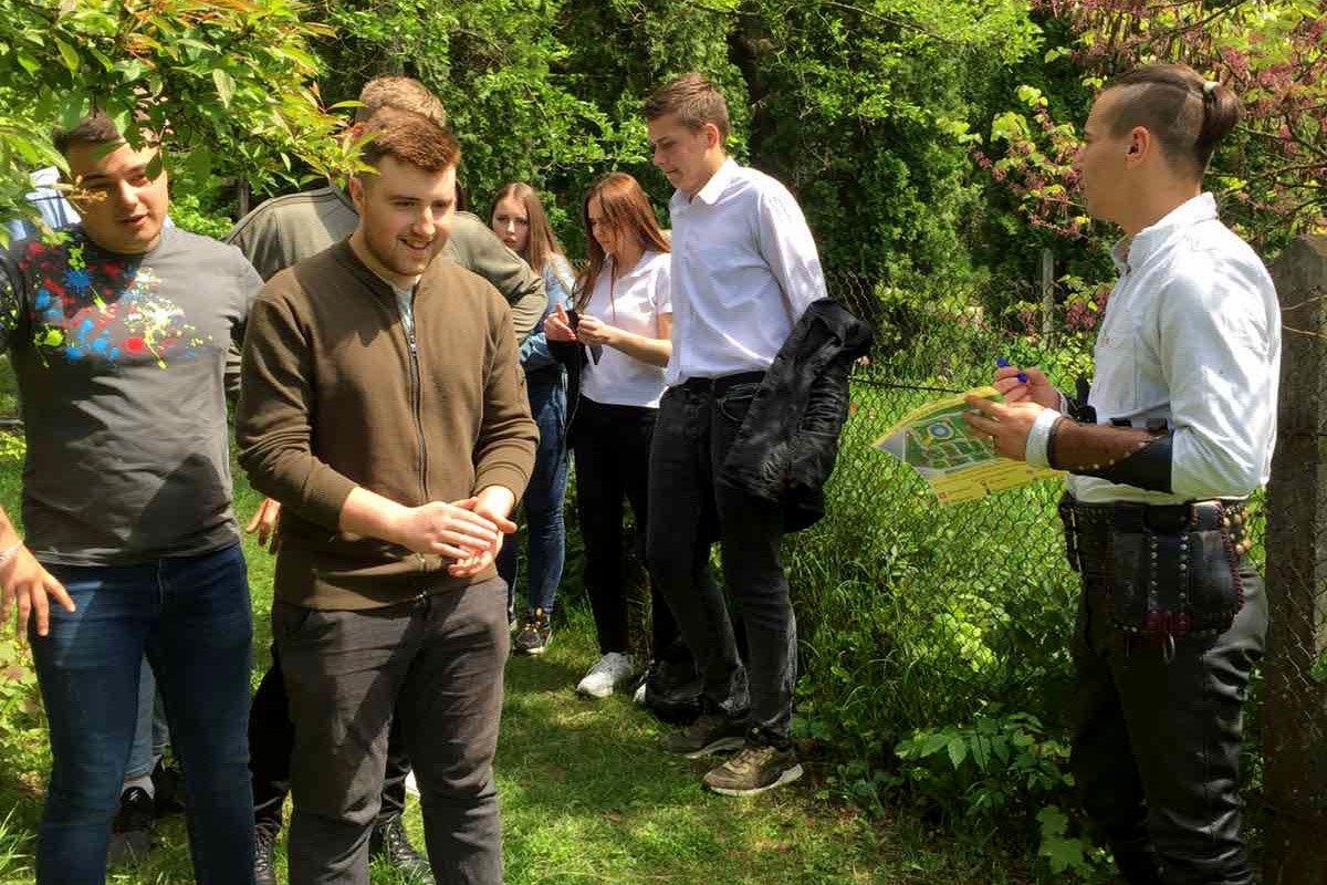 """Студенти ПДАТУ шукали """"Квітки папороті"""" у Ботанічному саду, фото-1"""