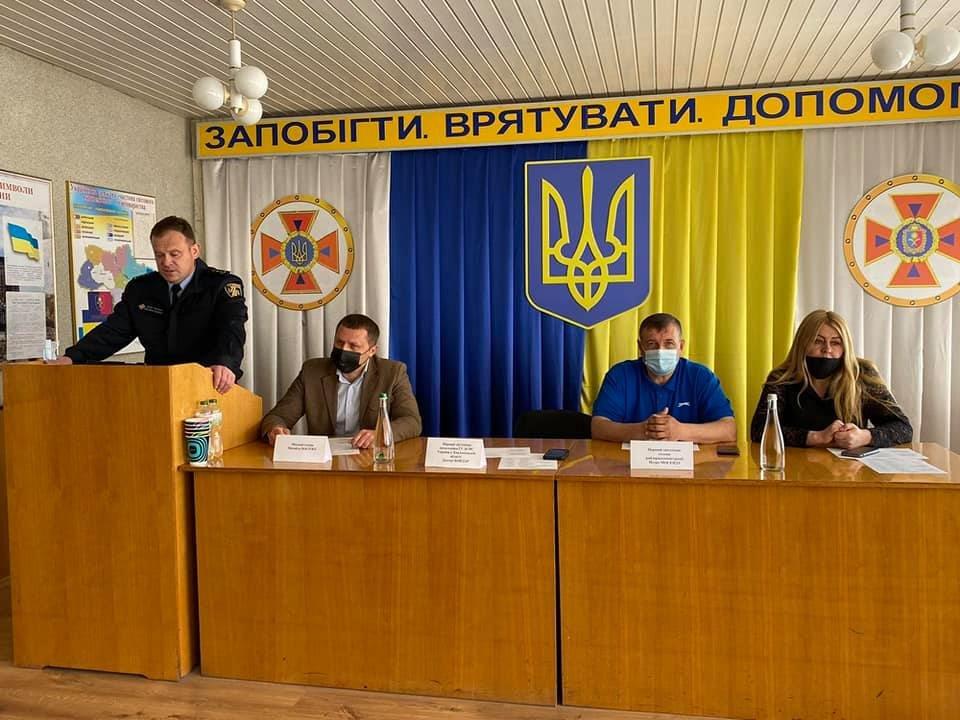У Кам'янці відрекомендували нового керівника районного управління ГУ ДСНС, фото-1