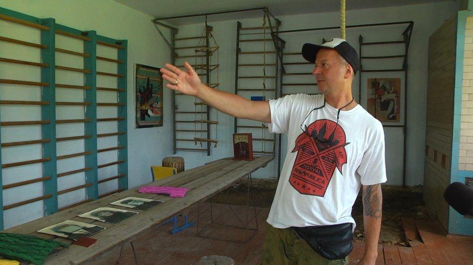 """Ідея створення мистецького простору належить Андрію Зоіну, Фото: """"Cуспільне. Поділля"""""""