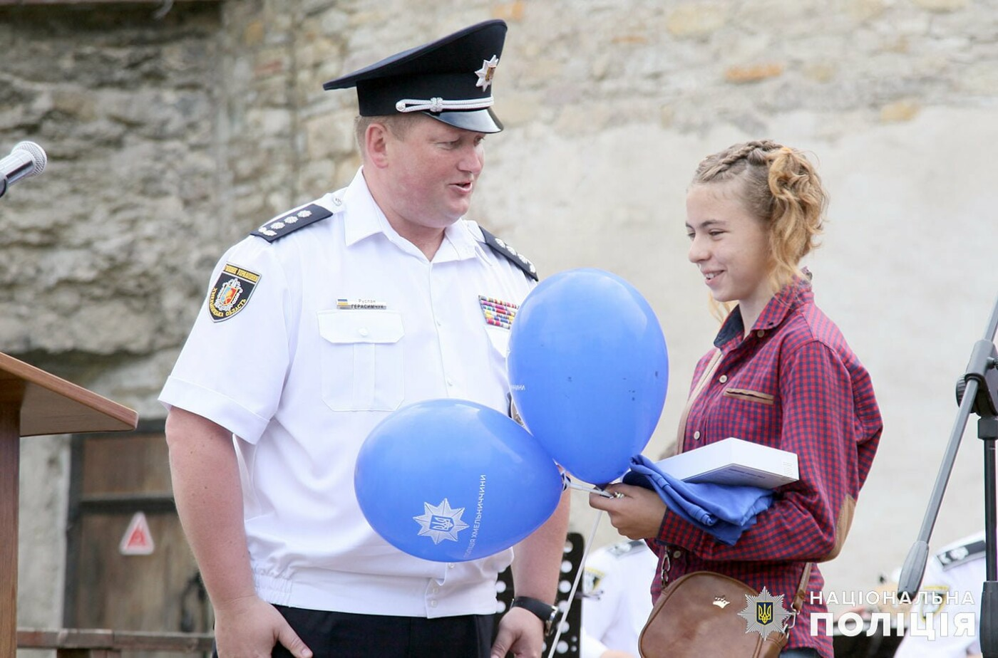 Кам'янецькі поліцейські здійснили мрію 8-класниці , фото-2, Фото: пресслужба Поліції Хмельницької області.