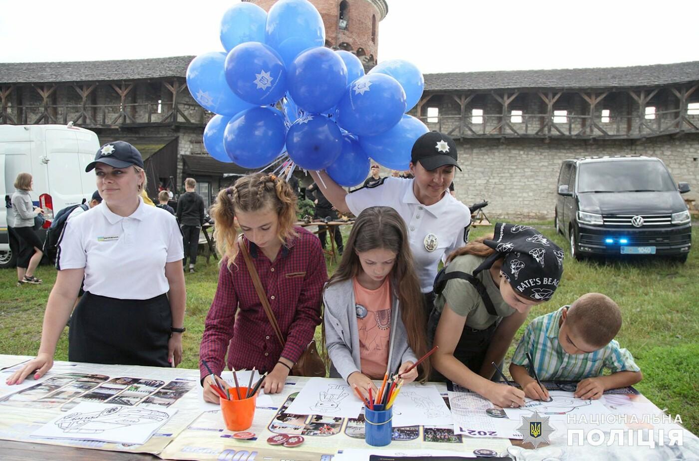 Кам'янецькі поліцейські здійснили мрію 8-класниці , фото-4, Фото: пресслужба Поліції Хмельницької області.