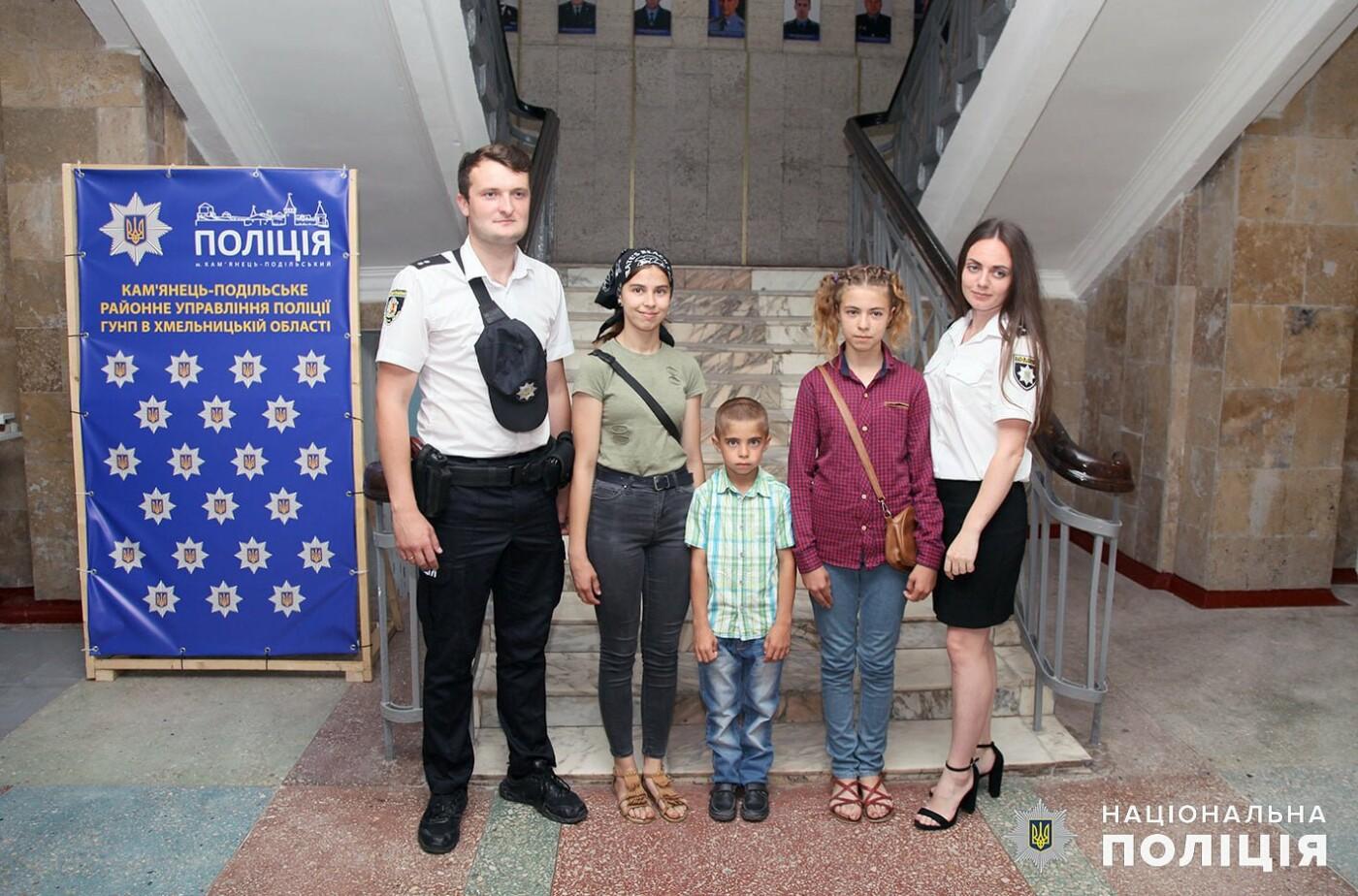 Кам'янецькі поліцейські здійснили мрію 8-класниці , фото-5, Фото: пресслужба Поліції Хмельницької області.