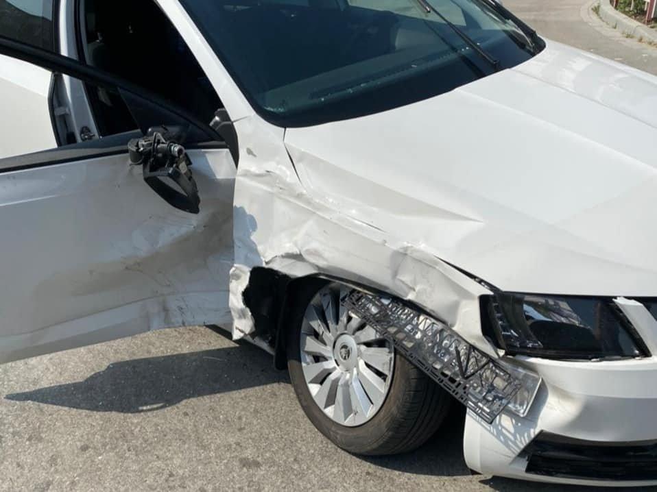 У Кам'янці трапилася ДТП, в якій травмувалась 30-річна жінка, фото-1, Фото: Кам'янець-Подільського районного управління поліції